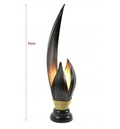Grande lampe de salon artisanale d coration zen style for Grandes lampes de salon