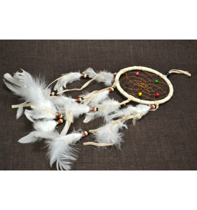 Gigante dream catcher / catcher-incubo 45x12cm - Bianco