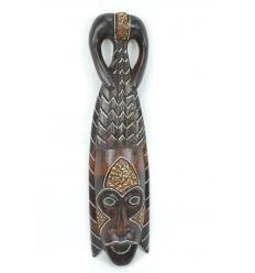 Maschera africana in legno 50cm stile tribale. Fatti a mano.