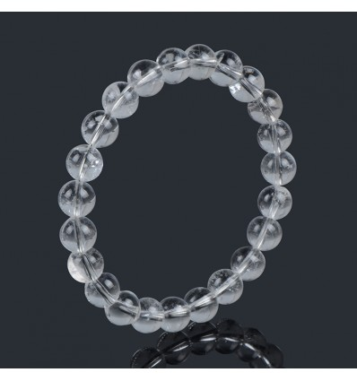 Bracelet Lithotherapie Rock-Crystal - Strength and Protection