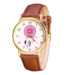 "Guarda fantasy moglie ""Dreamcatcher"" modello Dream Catcher - bracciale marrone"