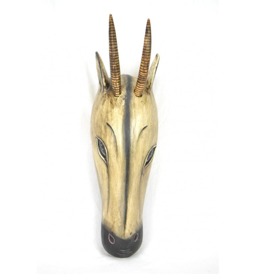 masque africain gazelle