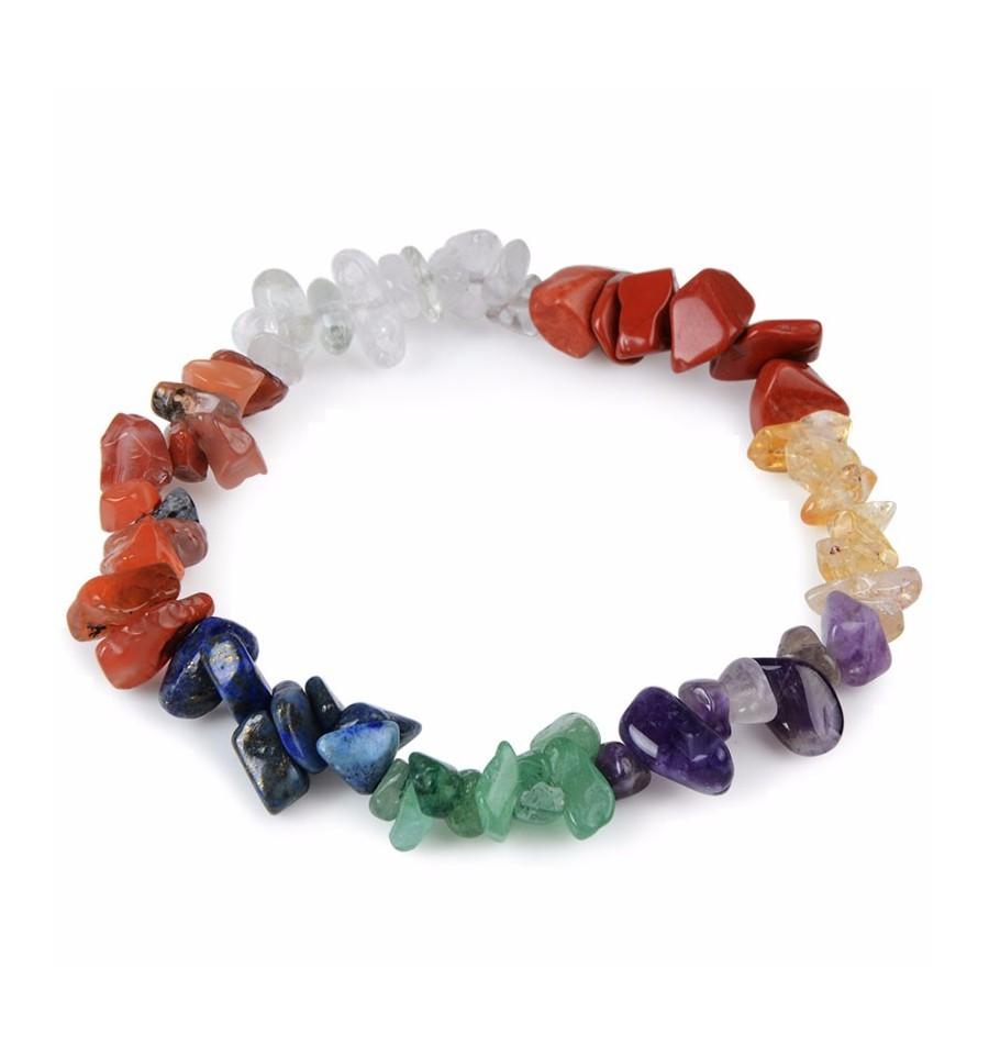 bracelet chakra fin