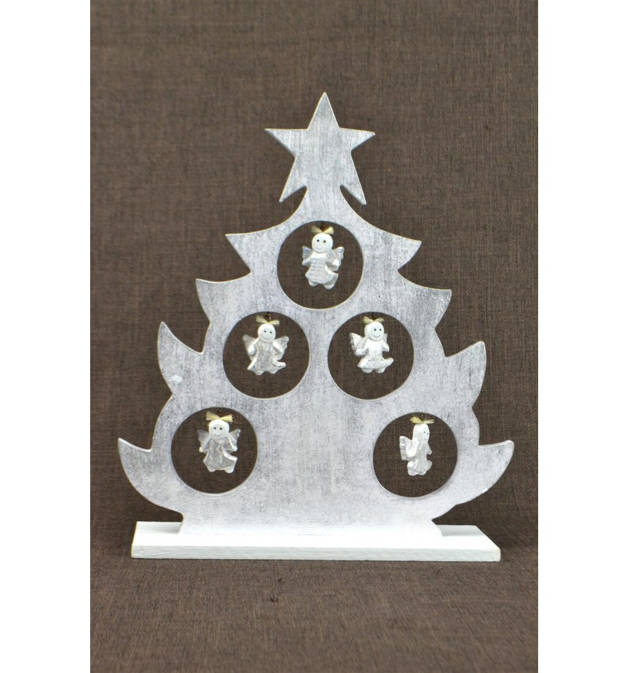 Sapin de no l d coratif d cor anges d co de no l - Decoration noel fait main ...