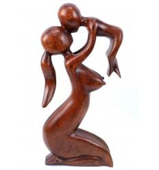 Statue maternité maman bébé, idée cadeau de naissance original.