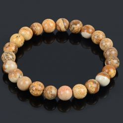 Bracelet Lithotherapie Jasper natural - Serenity, tranquility and confidence