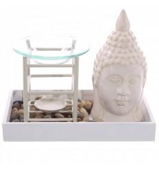 Brule-fragranza della candela originale stile Zen giardino, arredi asiatici.