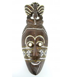 African mask cheap wood. Wall decoration exotic africa.