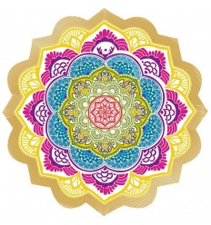 Mat meditation Tapestry beach Sheet 150cm MANDALA