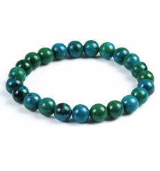 Bracelet Lithotherapie in Chrysocolla - Stone in a quiet