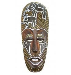 L'acquisto di Deco africa non costoso. Maschera africana in legno modello elefante.