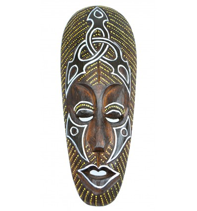 Deco tribal african. Purchase african mask wood cheap.