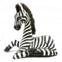 Statua di legno della Zebra deco camera da letto bambino teen safari in savana originale.