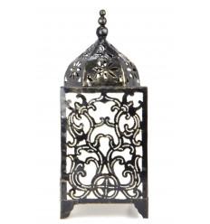 Originale lampada in ferro battuto, scolpito H45cm motivi barocchi.
