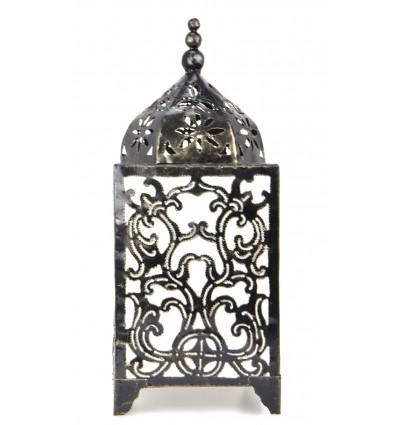 Lampe originale en fer forgé artisanal. Décoration baroque pas cher.