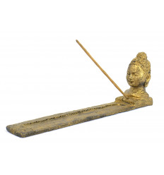 Incense holders for sticks with head of the Buddha zen.