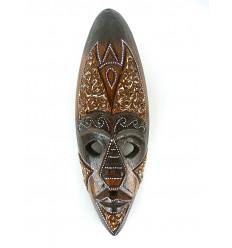 Maschera di arredamento, di legno africano 30 cm - decorazione etnico chic