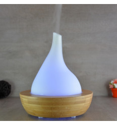 "Diffuser ultrasonic essential oils ""Elegansia"" bamboo and glass"