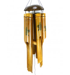 Chime wind bamboo handicraft Bali cheap inside and out.