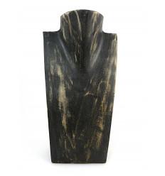 Busto display collana di legno professionale grossista, a buon mercato.