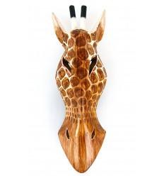 Trofeo Giraffa, maschera africana oggetto deco collezione originale.