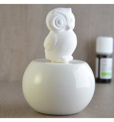 Aroma diffuser by capillary action white owl, original wc. Purchase.
