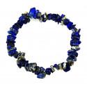 Bracelet baroque lapis lazuli, achat pas cher, livraison gratuite.