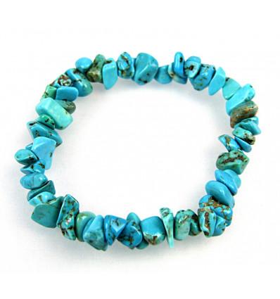 Bracelet baroque turquoise, achat pas cher, livraison gratuite.