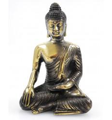 Statuetta di Buddha Abhaya Mûdra bronzo H14cm. Una serie limitata.