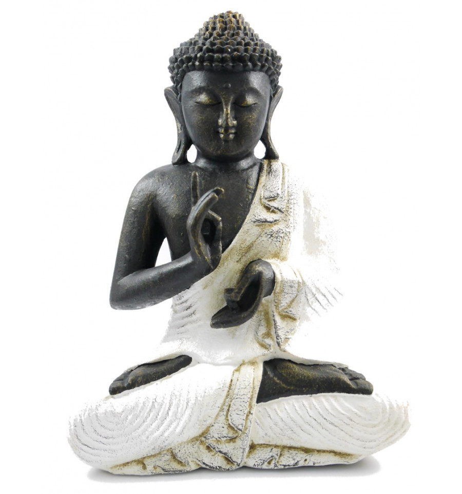 statue bouddha boudha d coration jardin ext rieur asiatique pierre. Black Bedroom Furniture Sets. Home Design Ideas