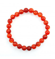 Bracelet Lithotherapie in Sardonyx - Virtue, intuition, spirituality.