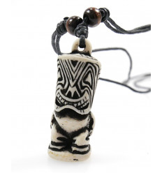 Collar Tiki polynesian maori jewellery - tribal, surf, beach, holiday.