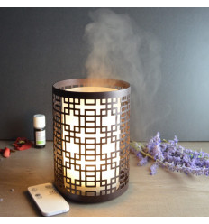 Diffuser ultrasonic essential oil remote control lantern.