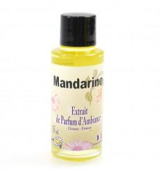 Extrait de parfum pour diffuseur, senteur mandarine, made in France.