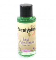 Estratto di profumo di eucalipto per un diffusore, l'origine di Grasse, in Francia.