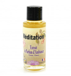 Estratto di profumo di meditazione per la diffusione di yoga, il rilassamento e il benessere.