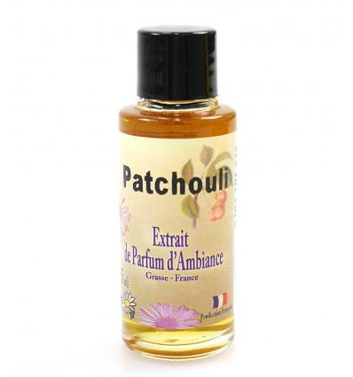 Extrait de parfum patchouli à diffuser, fabrication française Grasse.