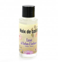 Extract, fragrance diffuser, fragrance coconut, Grasse, France.