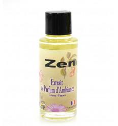 Estratto di profumo di ambientazione zen per la diffusione del profumo di Grasse, in Francia.