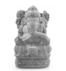 Statuetta di Ganesh H20cm pietra reconsituée