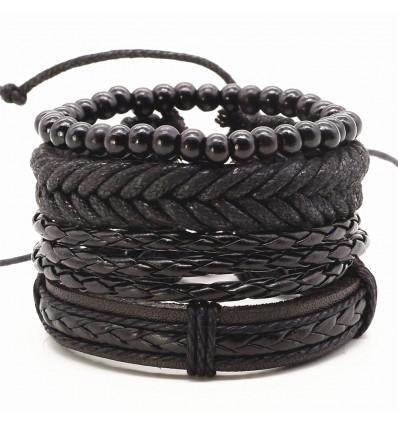 Manchette pour homme, bracelet tendance mode masculine, bijoux homme.