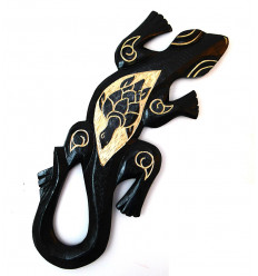 Wall decor gecko, cheap, inspiration exotic ethnic DIY.