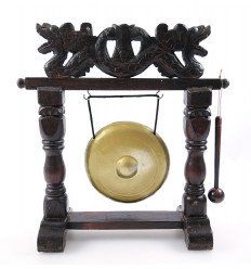 Gong table chinese decoration dragon. Handcrafted.