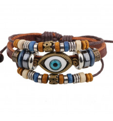 Charm Bracelet for men. Protection against the evil eye.