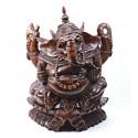 Statuette Ganesh en bois, achat pas cher.