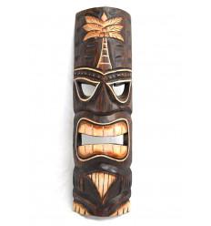 Maschera Tiki h50cm di legno intagliato. fatti a mano.