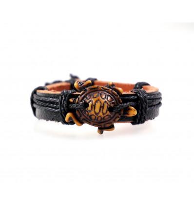 Bracelet tortue - bijou style maori mixte