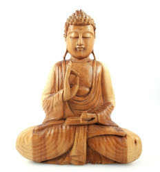 Buddha Statue sitting in a lotus position h30cm