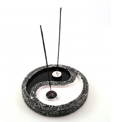 Large incense holders chinese yin yang decorative wooden sticks.
