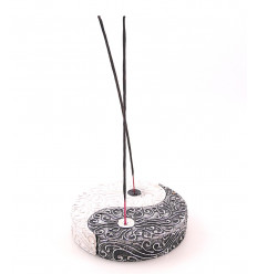 Incense holders chinese yin yang decorative wooden sticks. Purchase.